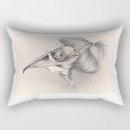 As A Bird Rectangular Pillow