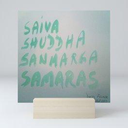 Saiva Shuddha Sanmarg Samaras Mini Art Print
