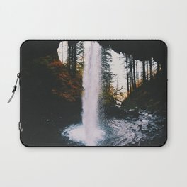 Behind The Falls Laptop Sleeve