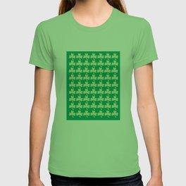 Shamrock Pattern T-shirt