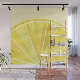Lemony Goodness Wall Mural