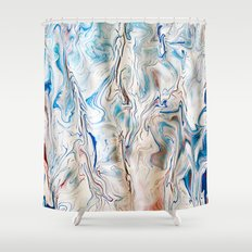 Gravity Painting 10 Shower Curtain