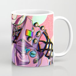 Bear -&- Belle Pastel Goth Coffee Mug
