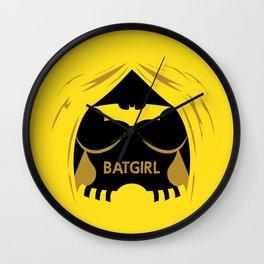 Batgrrrl Wall Clock