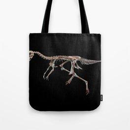 Velociraptor Oviraptor Skeleton Fossil Tote Bag