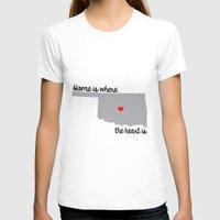 oklahoma T-shirts featuring OKLAHOMA by vicotera