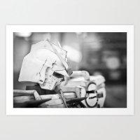 gundam Art Prints featuring Thinking Gundam by Long Thai - mineralblu.com