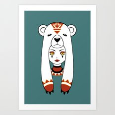 Polar Tribe Art Print