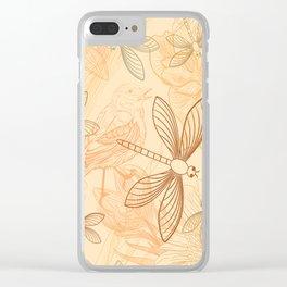 Animal Nature Design Clear iPhone Case