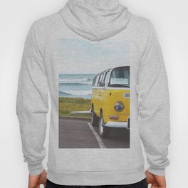Combi yellow beach Hoody
