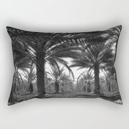 Date palms. Coachella Valley, California Rectangular Pillow
