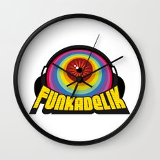 Funkadelik Wall Clock