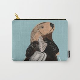California Sea otter Carry-All Pouch