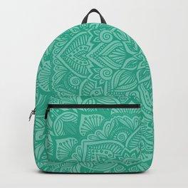 Emerald Mandala 1 Backpack