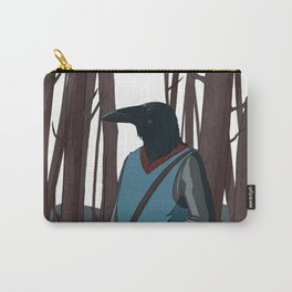 Crow Boy Carry-All Pouch