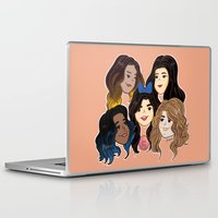 fifth harmony Laptop & iPad Skins featuring Fifth Harmony by SurpriseMila