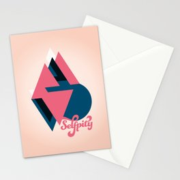 Self pity Stationery Cards