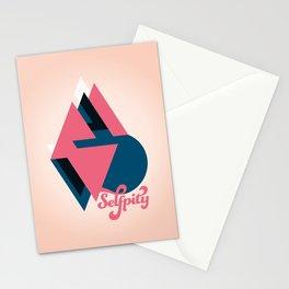 Self pity Stationery Cards