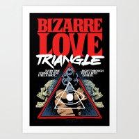 Bizarre Love Art Print