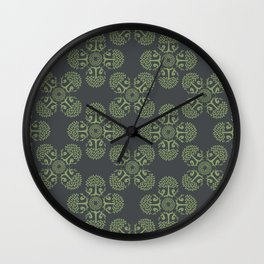 Trees & birds Wall Clock