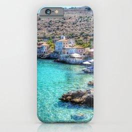 LIMENION MANI GREECE III iPhone Case