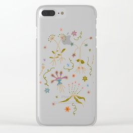 Flora of Planet Hinterland Clear iPhone Case