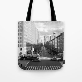 New York City, B&W. Tote Bag