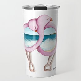 Byron Bay Love Birds Travel Mug