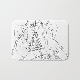 Pale Woman Bath Mat