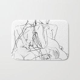 Pale Woman Bath Mat