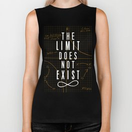 The Limit Does Not Exist Biker Tank