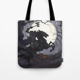 The Headless Horseman Tote Bag