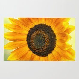 BRIGHT SUNFLOWER Rug