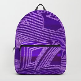 Symphony of Purple Sky Backpack