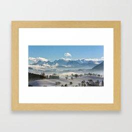Switzerland, Neuheim Framed Art Print