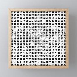 Controlled Randomness Framed Mini Art Print