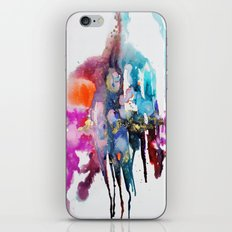 alive and walking (abstract) iPhone Skin