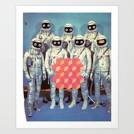 SPACE SHIT Art Print