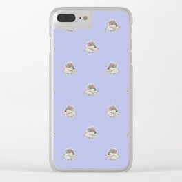 Monster Rats Hand Draw Illustration Pattern Clear iPhone Case