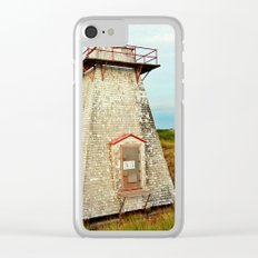 St. Peter's Lighthouse in the Dunes Clear iPhone Case