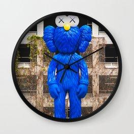 KAWS BFF Companion Statue in Los Angeles California USA Wall Clock