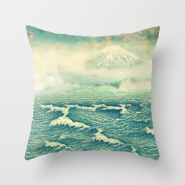 Returning to Naira Throw Pillow
