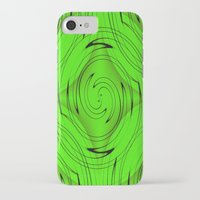 lime green iPhone & iPod Cases featuring Lime Green by Sartoris ART