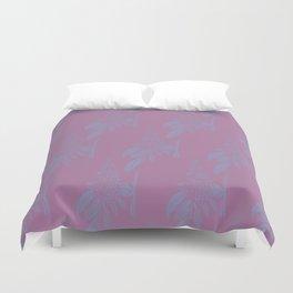 Blurred Flower Duvet Cover
