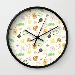 Rapuzel's Favorite things Wall Clock