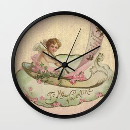 Sail for Love Wall Clock