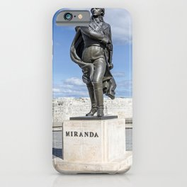 Francisco de Miranda iPhone Case