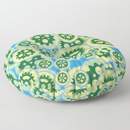 Gearwheels Floor Pillow