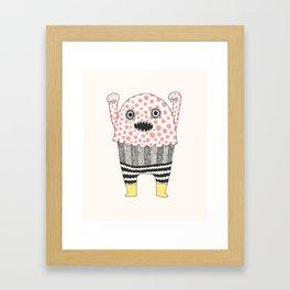 The Corner Monster Series Framed Art Print