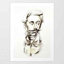Tristan Corbière, Thick Black Trace, L'Ankou Art Print